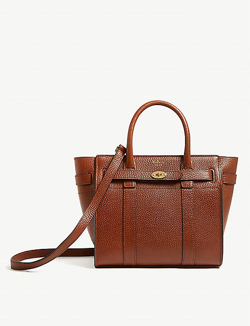 582286950ea4 MULBERRY Small Bayswater leather tote bag