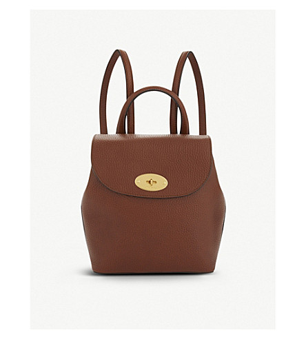 bafce566c2d9 ... MULBERRY Mini Bayswater leather backpack (Oak. PreviousNext