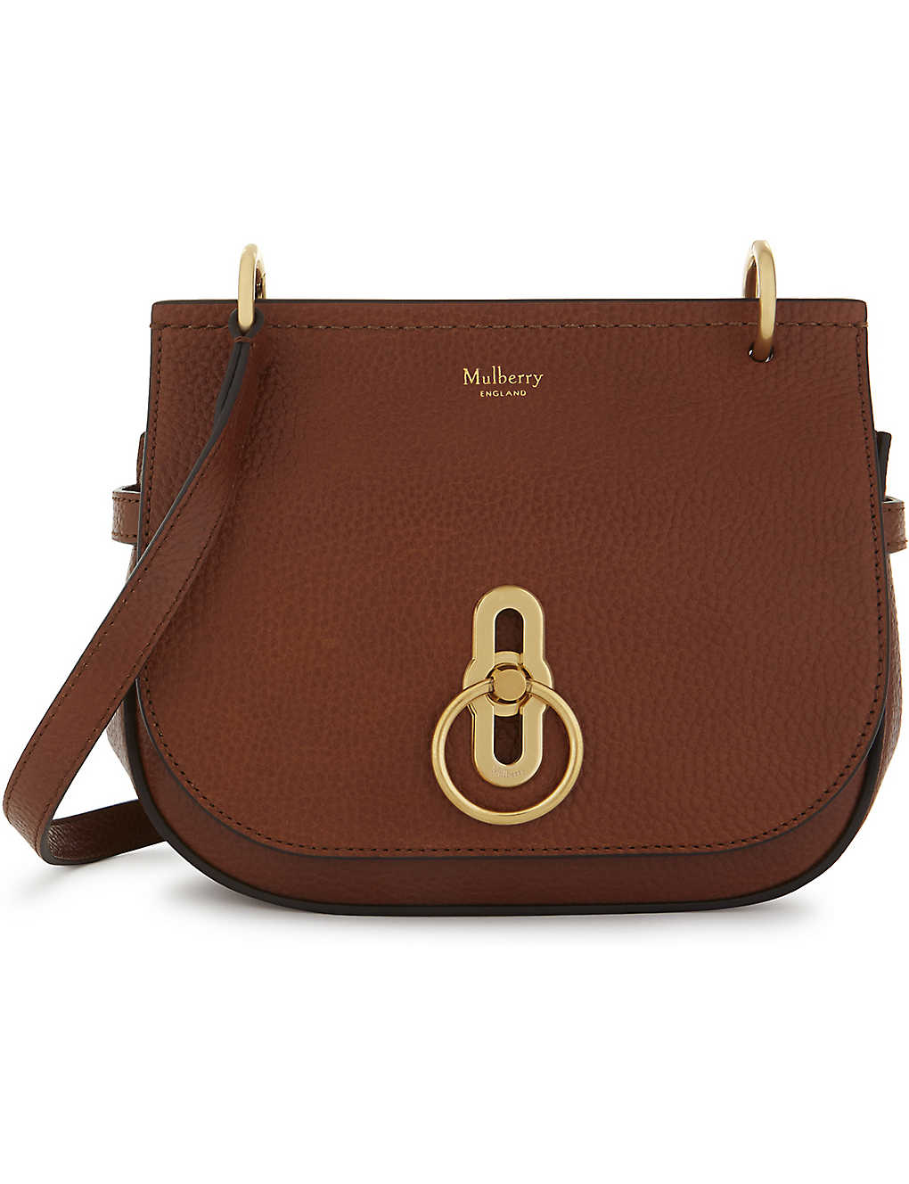 d300d42b49 MULBERRY - Small Amberley pebbled leather satchel