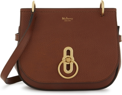 MULBERRY Small Amberley pebbled leather satchel