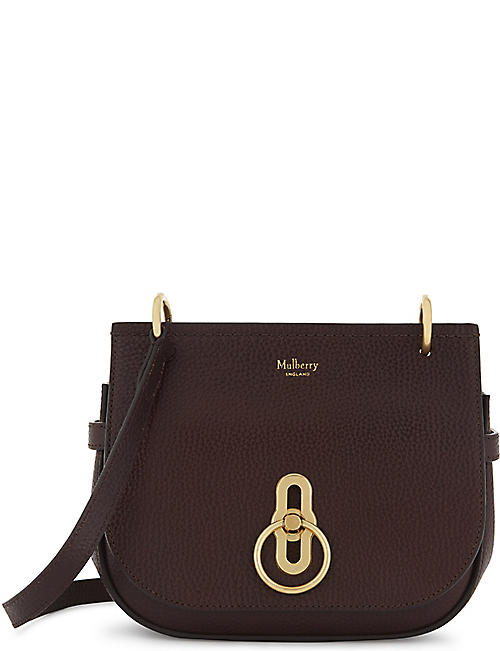 1558d5369127 MULBERRY - Amberley small grained leather cross-body bag ...