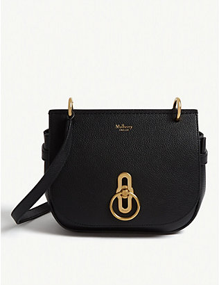 MULBERRY: Amberley grained leather small satchel bag