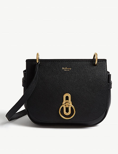 MULBERRY: Amberley small leather satchel bag