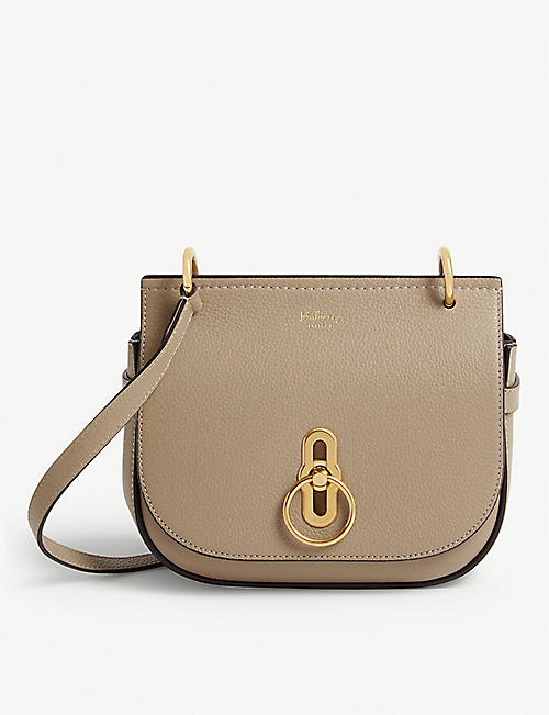 MULBERRY: Amberley small grained-leather cross-body bag