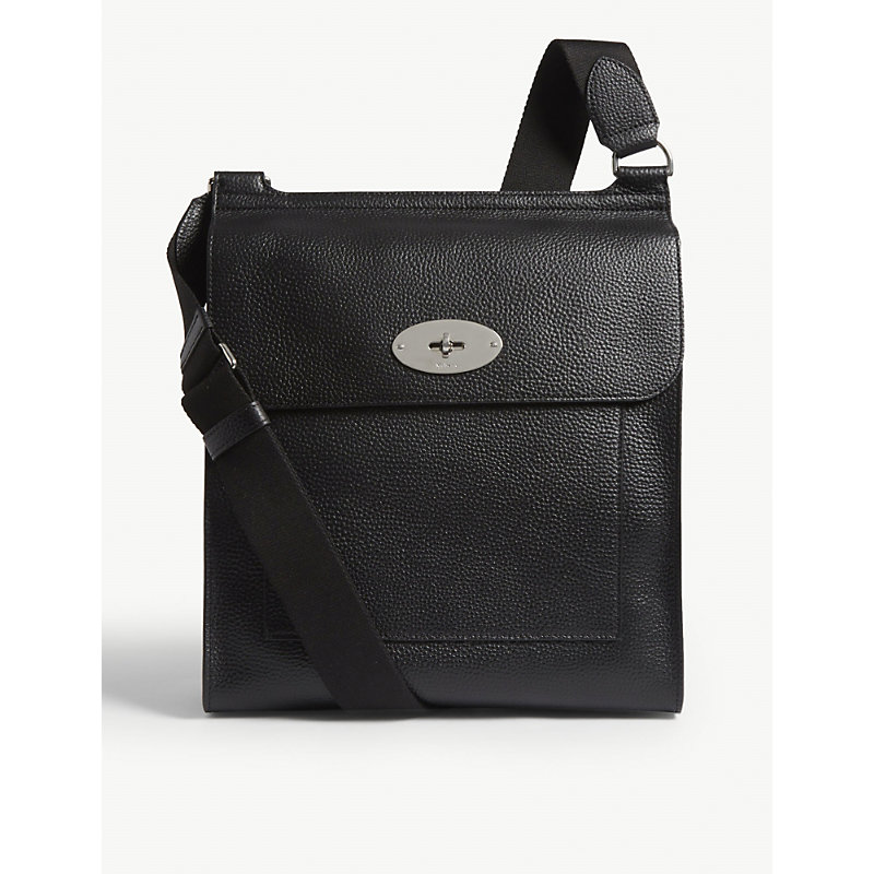Mulberry ANTONY LARGE GRAINED LEATHER MESSENGER