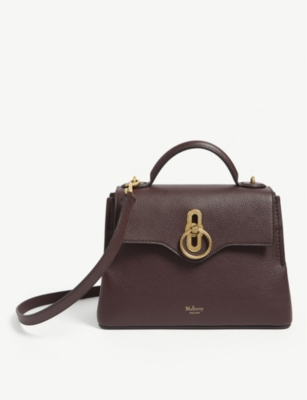 MULBERRY Mini Seaton grained leather shoulder bag