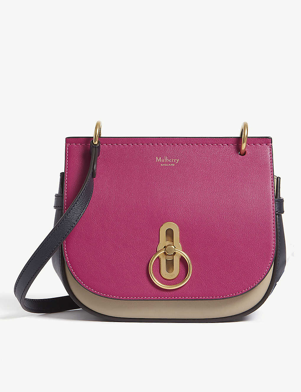 ac24fba5802 MULBERRY - Amberley colour-block leather satchel | Selfridges.com