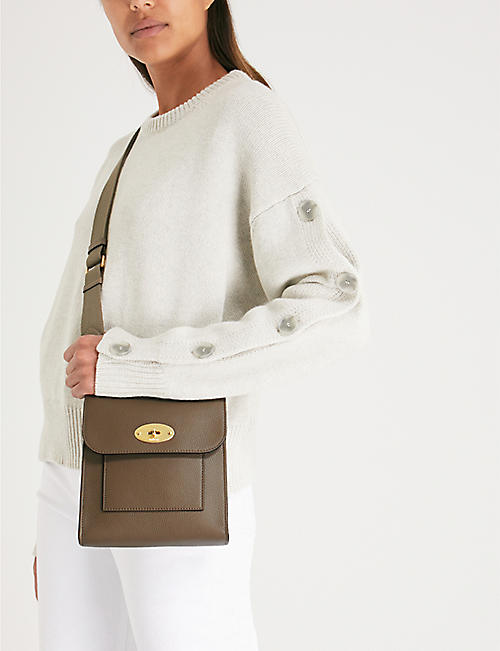 MULBERRY Antony small grained leather messenger