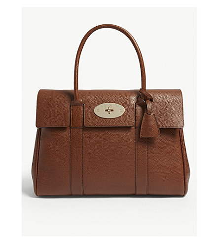 9376282e60ad ... MULBERRY Bayswater grained-leather tote (Oak. PreviousNext