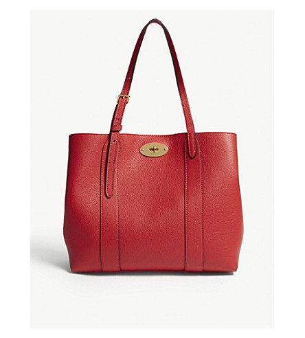 b7c149d3be MULBERRY - Bayswater small grained-leather tote