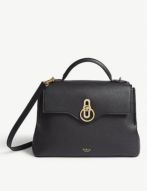 MULBERRY Seaton leather top handle bag
