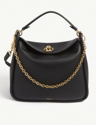 MULBERRY Leighton grained leather shoulder bag