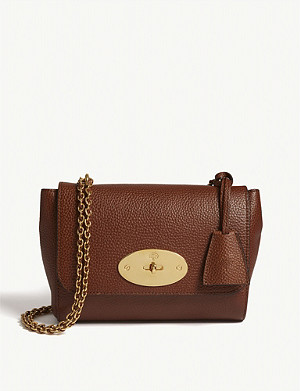 MULBERRY Lily grained leather shoulder bag