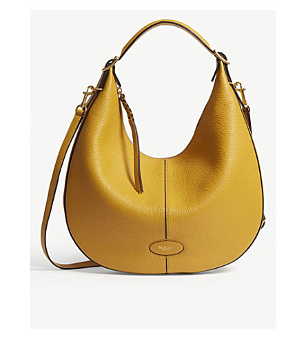 4f70d986e135 MULBERRY - Selby small grained leather hobo bag