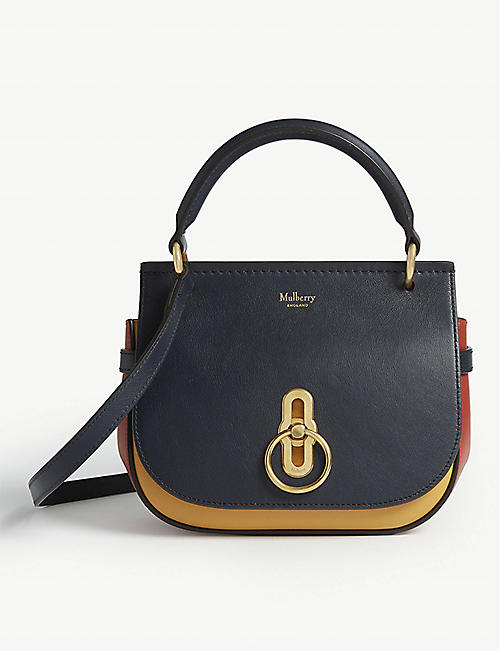 0c114e1440 MULBERRY Amberley tri-coloured leather cross-body bag