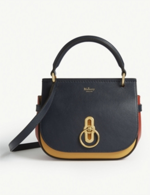 MULBERRY Amberley tri-coloured leather cross-body bag