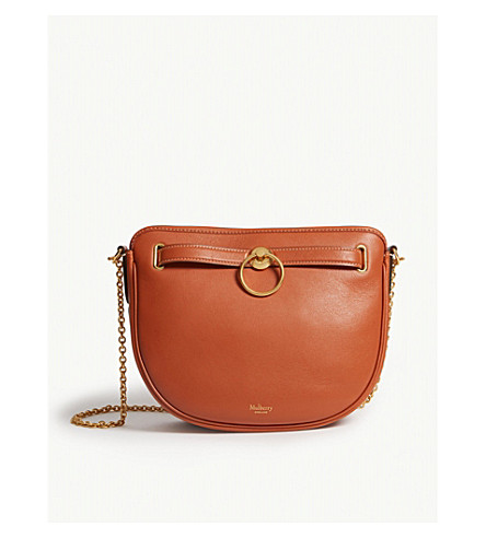 3336a15f1761 MULBERRY Brockwell shoulder bag (Red+clay