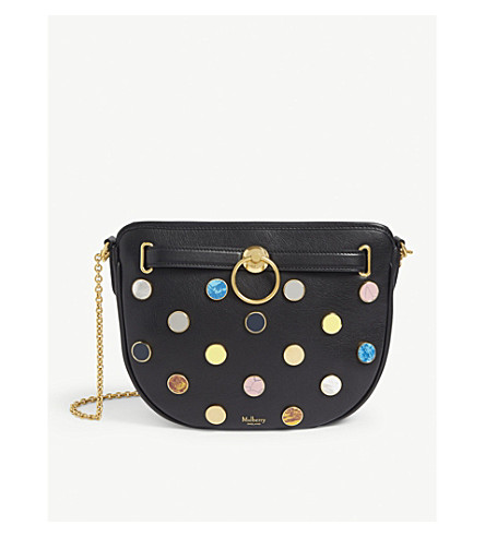 dd579ed59270 ... MULBERRY Brockwell leather circle cross-body bag (Black. PreviousNext