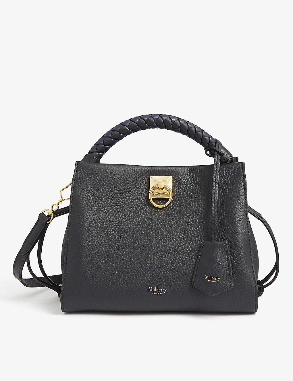 MULBERRY: Iris small leather shoulder bag