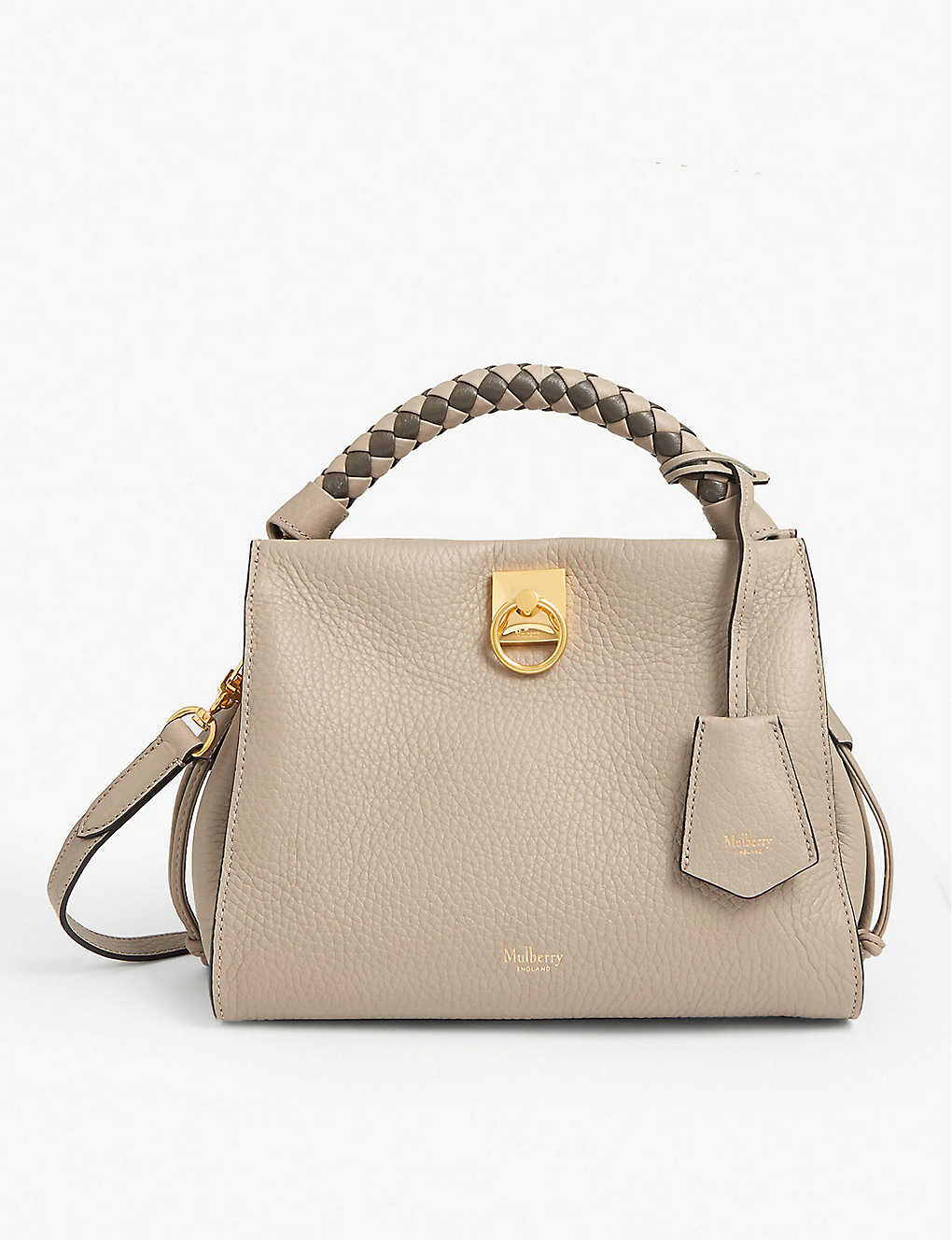 MULBERRY: Iris leather shoulder bag