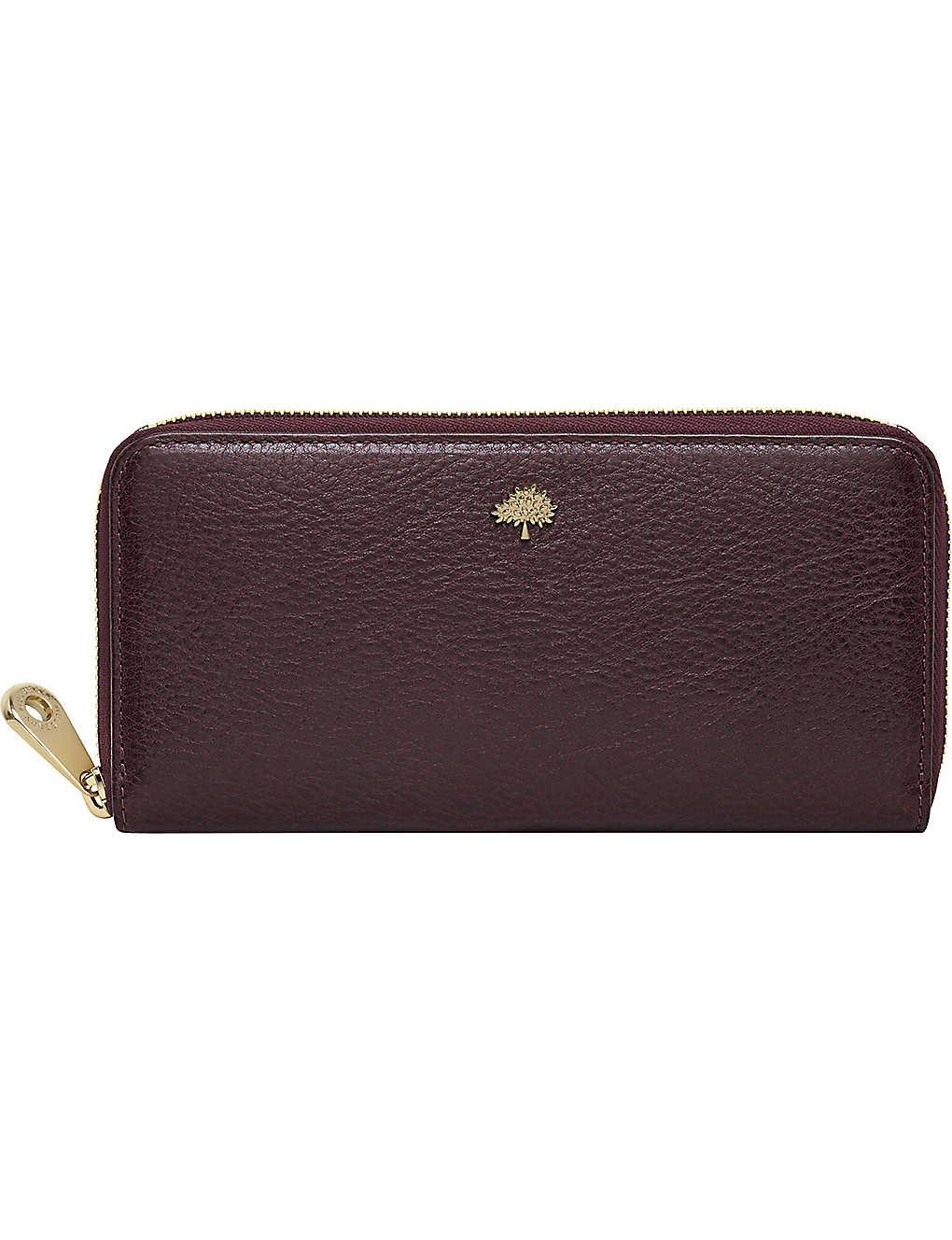 cb1cb21665 MULBERRY - Tree glossy goat leather wallet | Selfridges.com