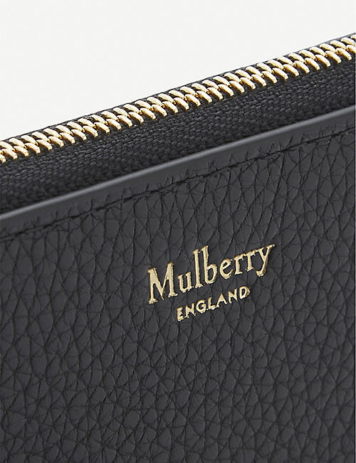 MULBERRY Small grained leather purse