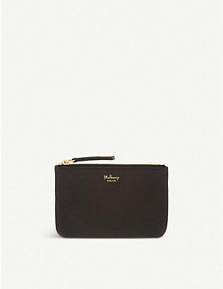 MULBERRY: Grained small grainedleather coin pouch