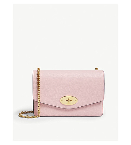211708f45fb5 MULBERRY Darley small leather cross-body bag (Sorbet+pink