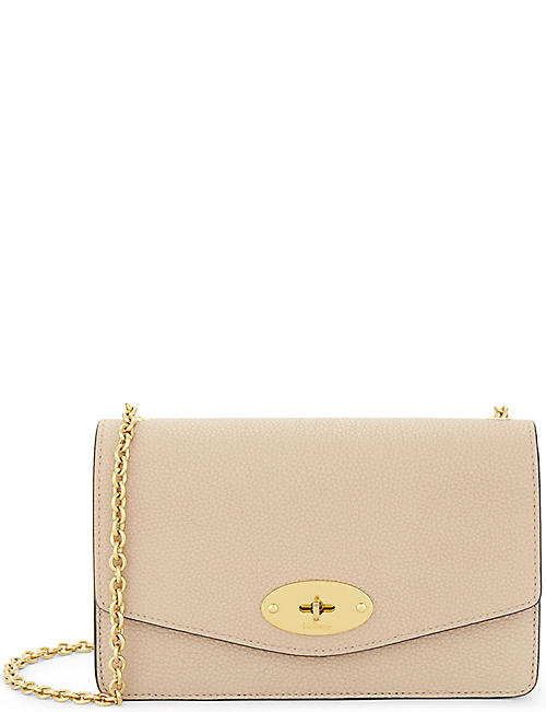 65e931884def MULBERRY Darley small grained leather wallet-on-chain