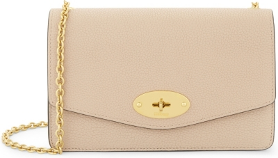MULBERRY Darley small grained leather wallet-on-chain