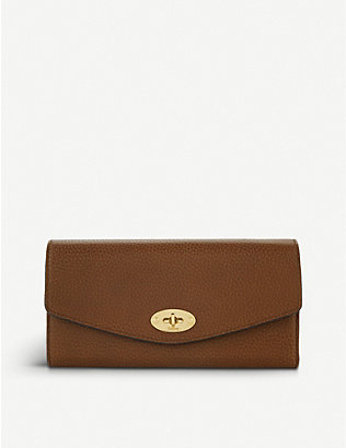MULBERRY: Darley leather wallet