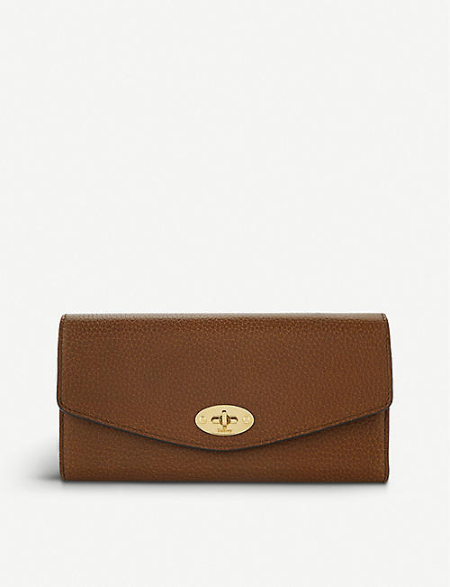c75c15bb42 MULBERRY Darley leather wallet