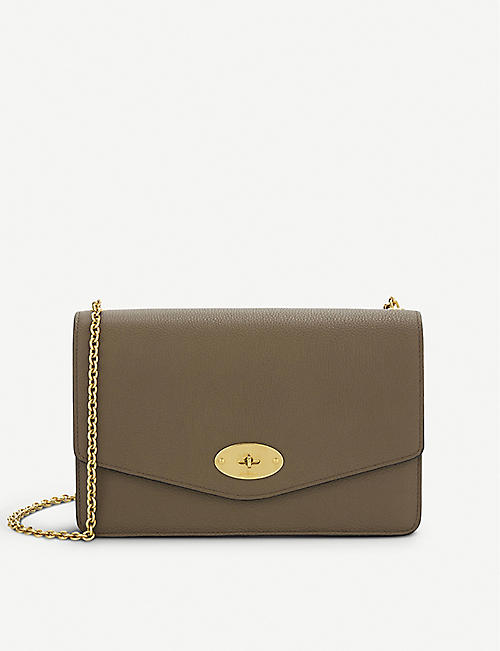 MULBERRY - Darley large leather clutch  f535e7e99352c