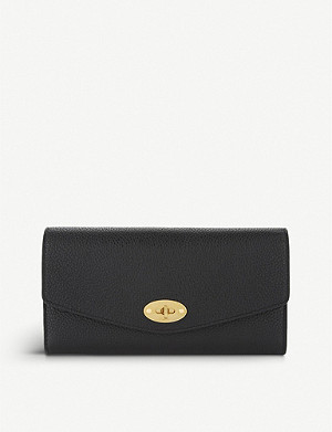 MULBERRY Darley small grained leather wallet