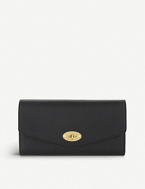 5d0eef3f95 MULBERRY Darley small grained leather wallet