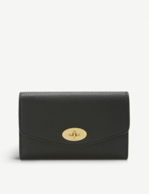 MULBERRY Darley medium grained leather wallet