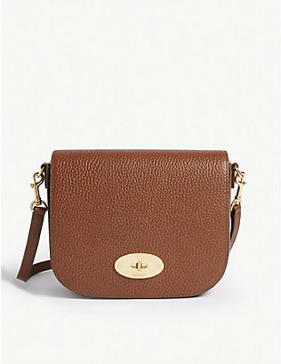 MULBERRY: Darley small leather satchel bag