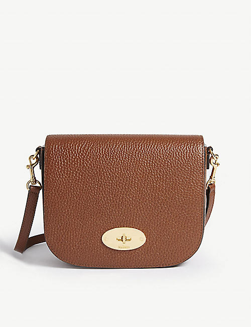 a7dff8648a MULBERRY Darley small leather satchel bag