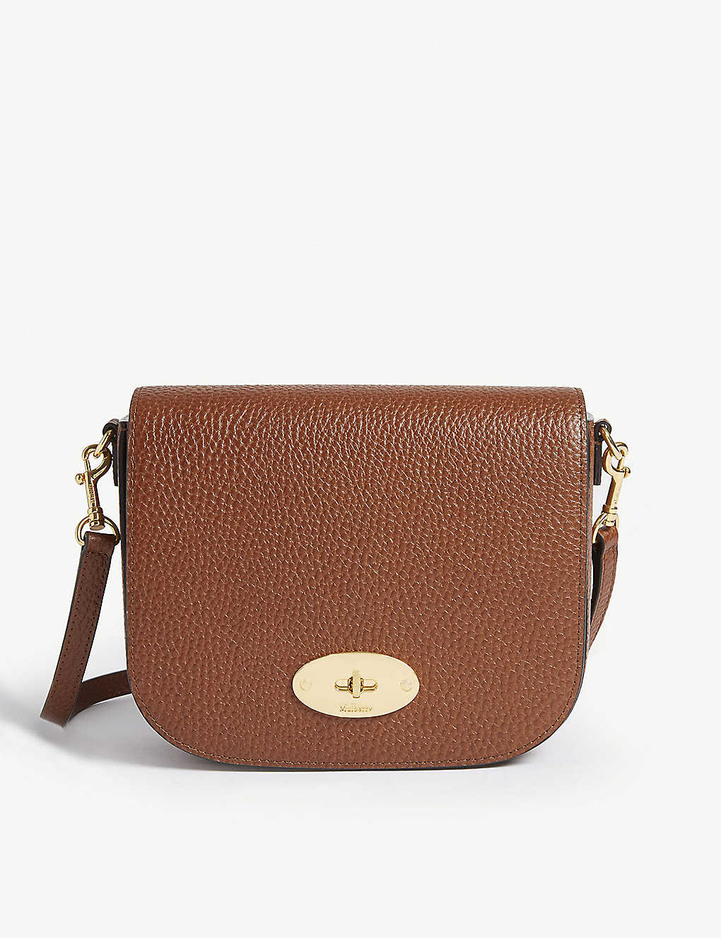 MULBERRY: Darley small leather satchel