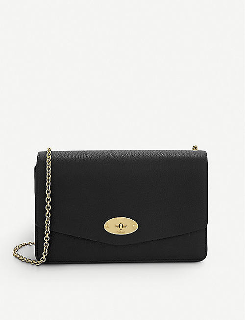 MULBERRY Small Darley leather clutch 2f95029ff330f