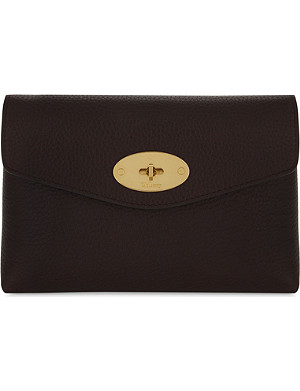 MULBERRY Darley grained leather cosmetic pouch