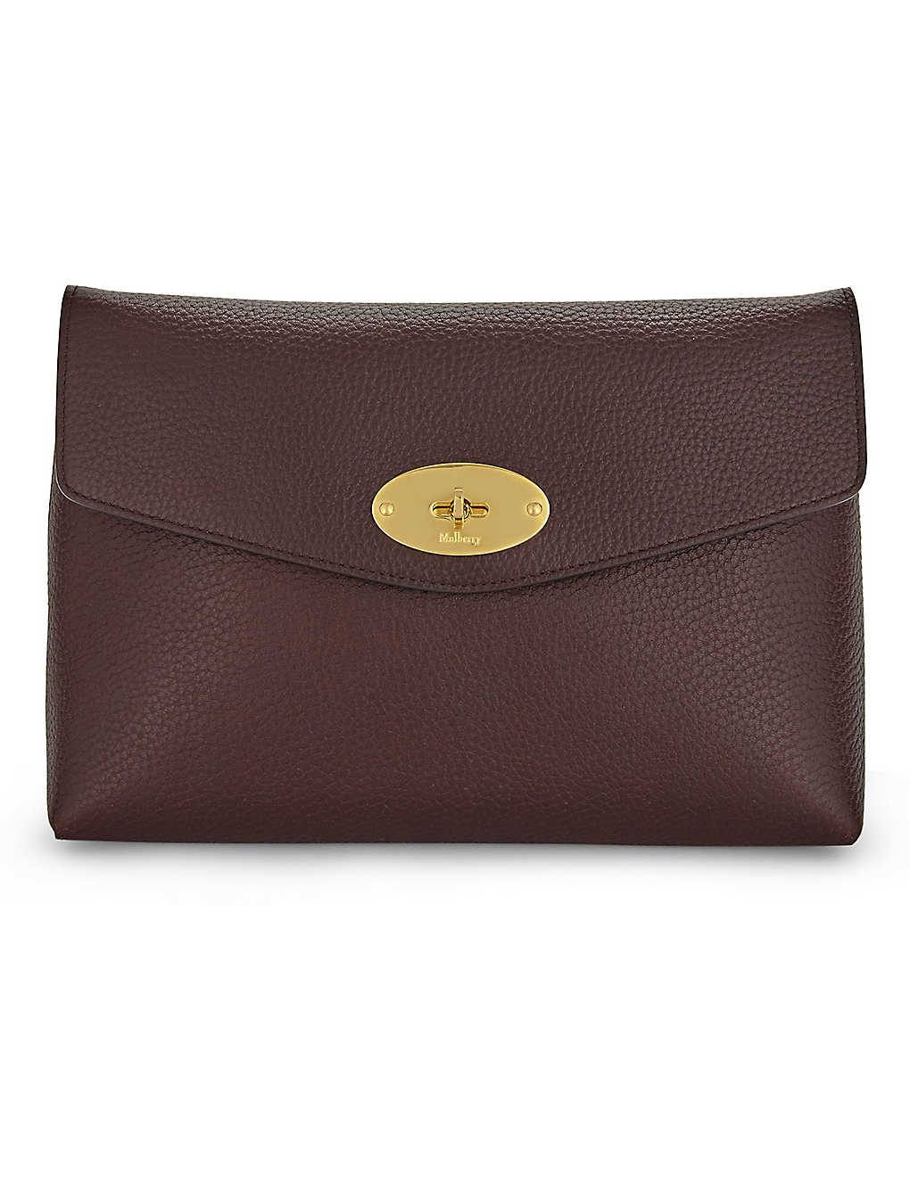 0cb7cf4a74 MULBERRY - Darley large leather cosmetic pouch | Selfridges.com