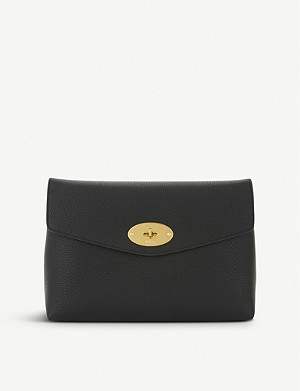 MULBERRY Darley leather pouch