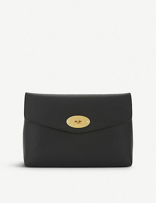 MULBERRY: Darley leather pouch