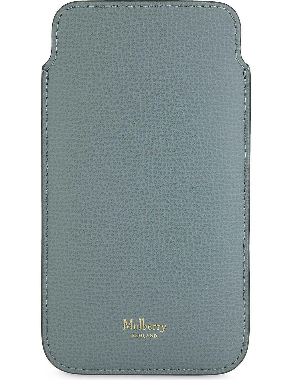 more photos e4189 eeba8 MULBERRY - iPhone 7 leather cover and card slip | Selfridges.com