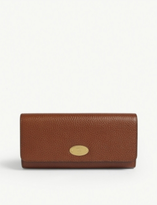 MULBERRY Plaque leather purse