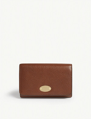 MULBERRY Mulberry Plaque long wallet