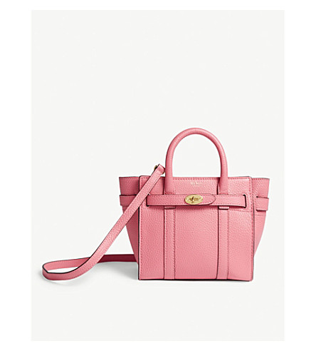 ... MULBERRY Bayswater micro grained leather tote (Fluro+pink. PreviousNext 45bed9843ebab