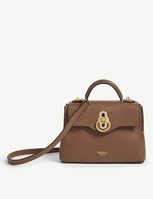 MULBERRY Seaton micro leather shoulder bag