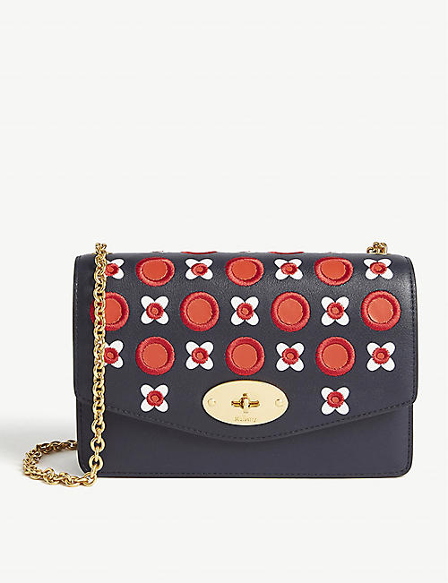 MULBERRY Darley leather broderie wallet-on-chain d41ea35714ed8